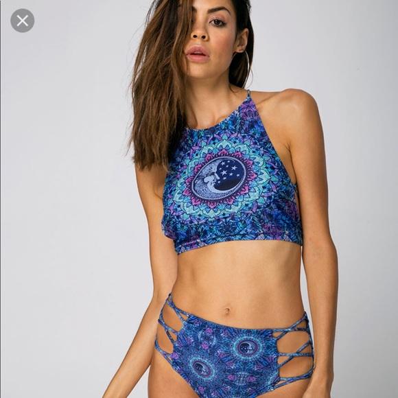 185e1177cc Motel Rocks Swim | Mandala Strappy Bikini Top | Poshmark